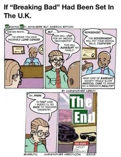 If Breaking Bad was set in the UK...