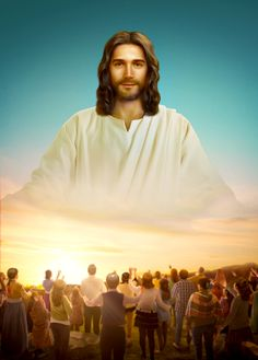 The way of eternal life: God personally has told us. They will help you gain the way of eternal life bestowed by God. Pictures Of Jesus Christ, Jesus Christ Images, Jesus Art, God Jesus, Christian Images, Christian Movies, Jesus Crown, Jesus Drawings, Jesus Photo