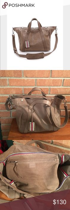 Madewell Leather Stockholm Satchel in mink NWOT SOLD OUT at Madewell Madewell Bags Satchels