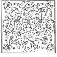 Mandala  70 - Coloring page - MANDALA coloring pages - Mandalas for EXPERTS