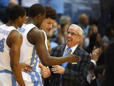 North Carolina head coach Roy Williams notched his career victory with a win over Syracuse Wright Brothers, Sports Fanatics, Unc Tarheels, Men's Basketball, Tar Heels, National Championship, Monday Night, American Revolution, Rebounding