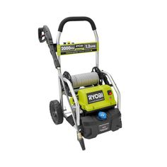 The Reconditioned Ryobi psi Pressure Washer is engineered to handle even your toughest jobs. With a powerful 13 Amp Electric Motor, this Ryobi Pressure Washer delivers psi of force for quick Best Pressure Washer, Pressure Washers, Power Sprayer, Ryobi Tools, Residential Cleaning, Portable Air Compressor, Cord Storage, Easy Storage, Photos