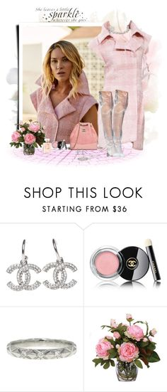 """""""It's human nature..."""" by akhesa10 ❤ liked on Polyvore featuring Artista, Chanel, Lux-Art Silks and WALL"""