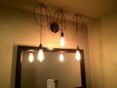 Order a custom light fixture today! Track Lighting, Vanity Lighting, Hanging, Custom Lighting, Bulb, Custom Light Fixtures, Modern, Modern Vintage, Vintage Industrial