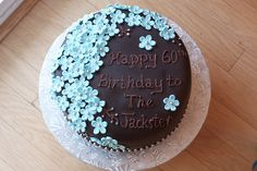 Birthday Cake for Mom by simmiecakes, via Flickr