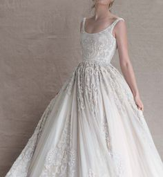 Dangerously Beautiful Sirens of the Sea Collection by Paolo Sebastian| Confetti Daydreams Wedding Blog