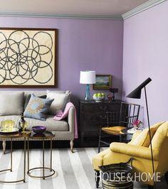 Color Lavendar Mauve Purple Rooms I Love On Pinterest