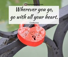 25 Inspirational Heart Quotes #sayingimages #heartquotes #quotes