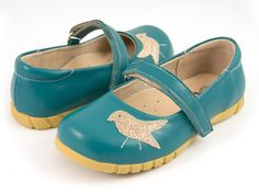 Livie and Luca Fall 2014 Robin Turquoise Leather – Posh Closet Children's Boutique