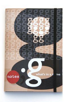 Letternotebook 'g'