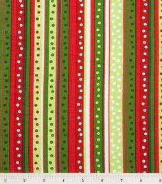 100/% Cotton Fabric Christmas Circles Snowman Reindeer Squirrel 135cm Wide