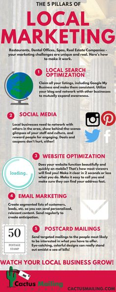 5 Pillars of Local Marketing - Help Your Dental practice, restaurant, real estate agency, or spa attract more business.