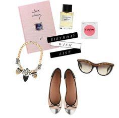 Girly Glam Birthday Wish List