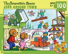 Berenstain Bears Jobs Around Town 100-Piece Puzzle by New York Puzzle Company