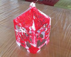 Paper Lantern.  You can free download Paper Lantern Template from my blog.