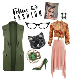 Designer Clothes, Shoes & Bags for Women Peter Pilotto, Mood, Cat, Shoe Bag, Polyvore, Stuff To Buy, Shopping, Collection, Design