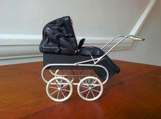 Stunning Roberson 1/12th miniature dollshouse pram | eBay