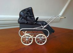 Stunning Roberson 1/12th miniature dollshouse pram | eBay
