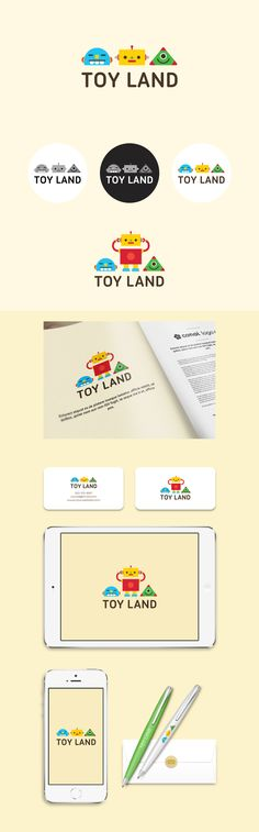 장난감천국, TOY LAND  (Logo Design By Conoi)