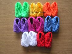 Crochet Baby Shoes - The Supermums Craft Fair