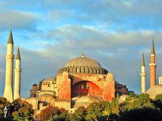 Imagen del templo Santa Sofía, Estambul, Turquía