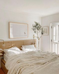 White Linen Bed Sheets Brooklinen | Scandianvia Standard