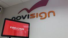 Kiosk demo in digital signage software NoviSign on Chrome OS