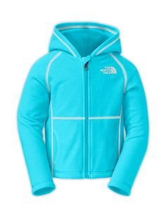 The North Face Toddlers' (2T-4T) Jackets & Vests TODDLER GIRLS' GLACIER FULL ZIP HOODIE  I was thinking blue 3T.. Eric loves this jacket for summer mummer