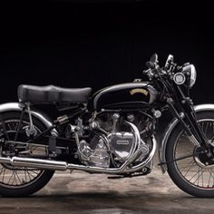 Vincent Motorcycle  #www.motorcyclefederation.com