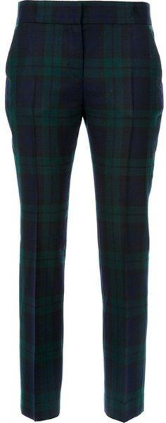Alexander McQueen England Tartan Trouser