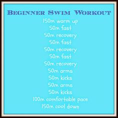 Beginners Triathlon Swimming Workout from @Charlene Brown Watson #swimming #workout #fitfluential