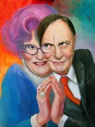 barry humphries/dame edna