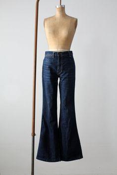 vintage 70s Sasson jeans / high waist denim / waist by 86Vintage86,