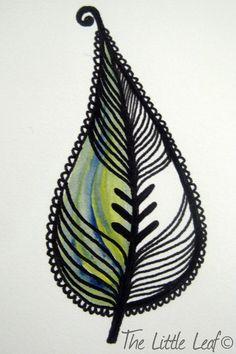 The Little leaf doodles