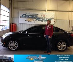 #HappyAnniversary to Shala Bass on your 2014 #Chevrolet #Cruze from Phillip Burnette at Crossroads Chevrolet Cadillac!