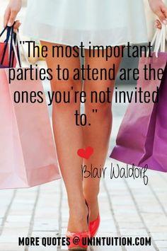 Best Blair Waldorf Quotes