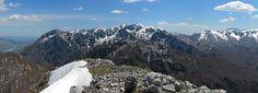 panorama dalla vetta del Monte Amaro