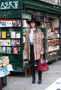 All the pretty birds » Milan Fashion Week Street Style Day 1 – Looks to Love Angelica ardasheva Bold!