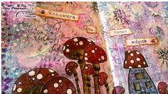 M.Paz Pérez-Campanero #artjournal Encuentra tu toque mágico