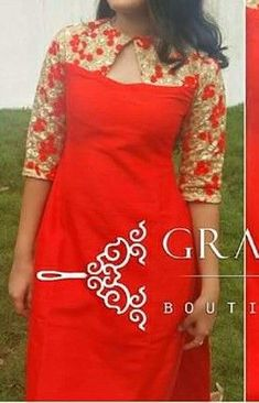 Churidar neck designs have gained huge popularity in recent times. The modern Indian women have become sophisticated and educated being. Churidhar Neck Designs, Kurtha Designs, Neck Designs For Suits, Sleeves Designs For Dresses, Dress Neck Designs, Fancy Blouse Designs, Simple Kurti Designs, New Kurti Designs, Kurti Designs Party Wear
