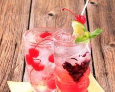 Recette de Thé glacé aux cranberries