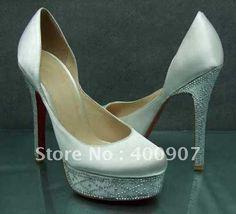 White Wedding Shoe 2012