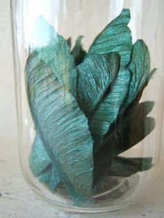 DIY -- Jar of Fairy Wings (no actual fairies were hurt -- uses maple tree samaras instead)