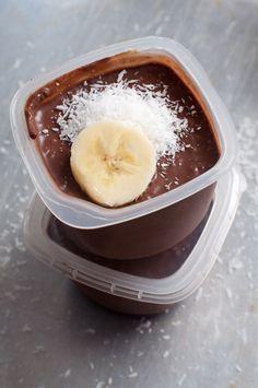 Schokoladiger Chia Pudding #Dessert #Frühstück #gesund