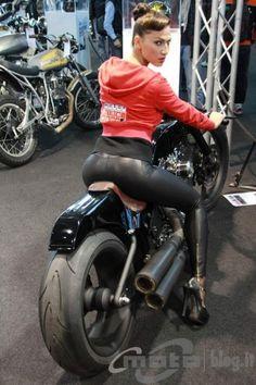 Motor Bike Expo 2013: Abnormal Cycle - Black Joker