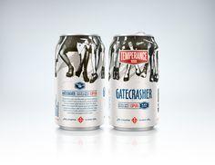 Temperance Beer Co. — The Dieline - Branding & Packaging Design