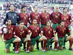 EQUIPOS DE FÚTBOL: SELECCIÓN DE PORTUGAL contra Inglaterra 12/06/2000