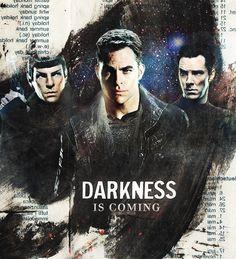 Darkness is coming #startrek