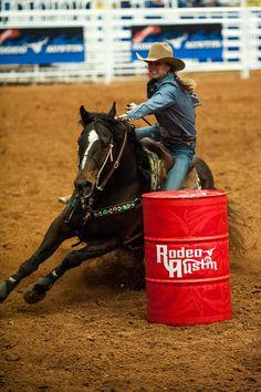NFR Barrel Racing | Barrel Racer, Austin Rodeo