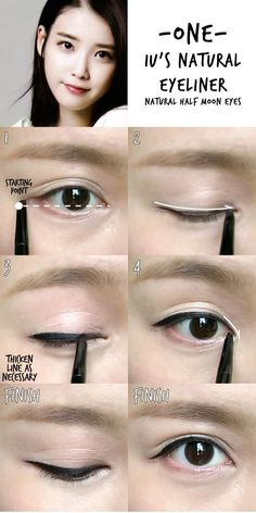 IU's Natural eyeliner